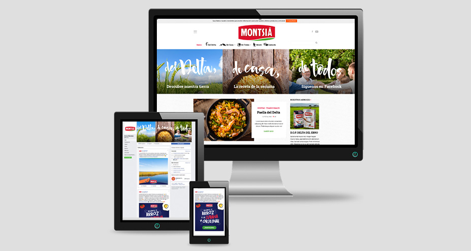 New blog and Facebook website of Montsià Rice