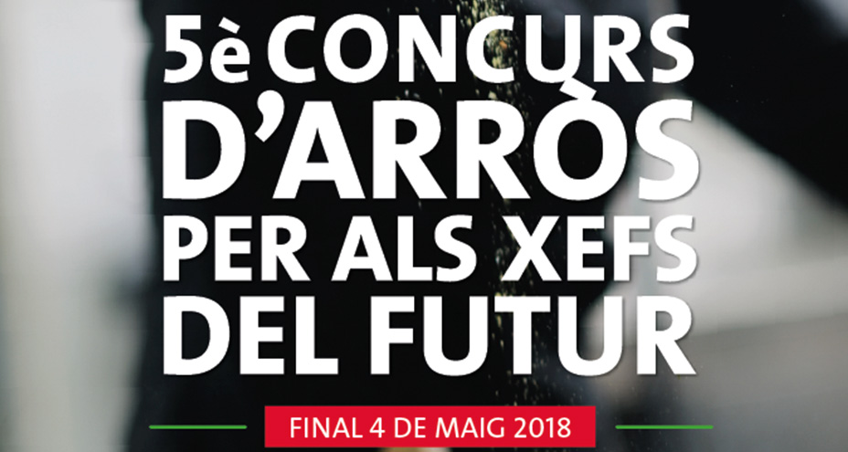 "The Montsià Contest: ""a grain of rice for the cuisine of the future."""